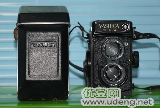 古玩,怀旧,胶片相机,雅西卡YASHICA Mat-124G