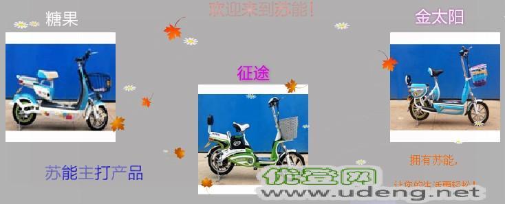苏能,电动车