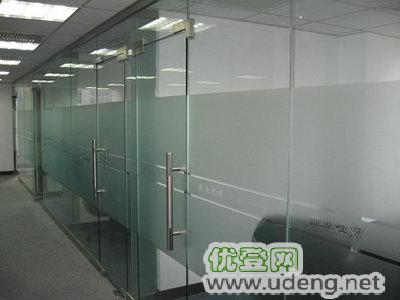 安装玻璃门 玻璃隔断 门禁安装