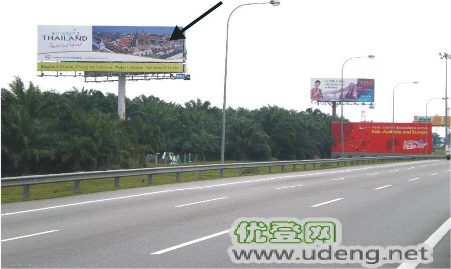 马来西亚吉隆坡机场高速广告