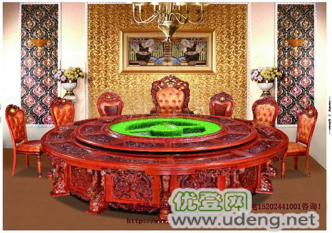 鄭州鑫鑫隆榆木餐桌椅 正品質保 規格齊全 雕花設計