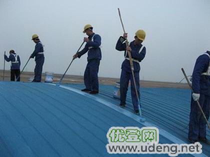 上海青浦區廠房彩鋼瓦防腐翻新、屋面彩鋼板除銹刷漆