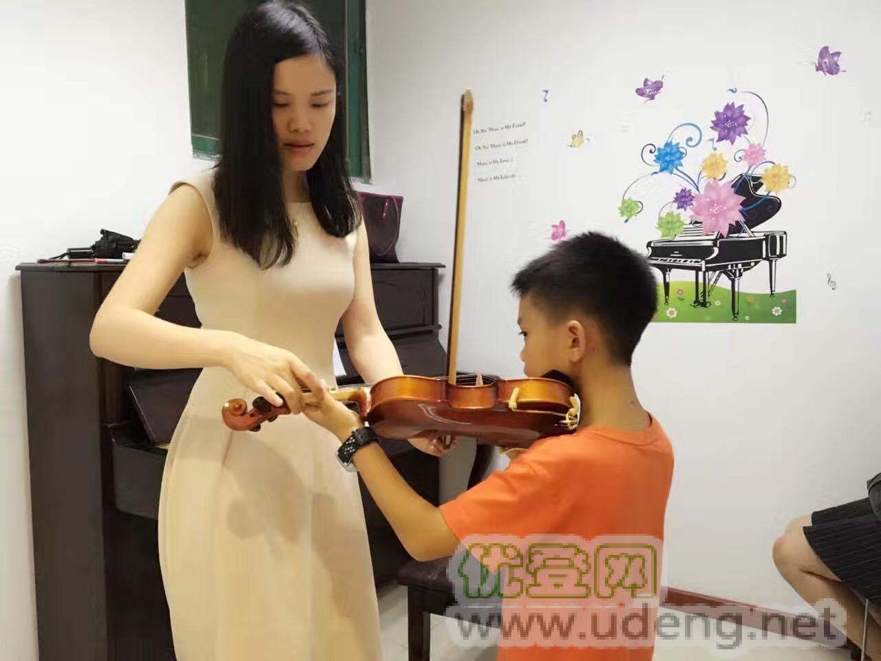 白石洲桃园成人少儿小提琴培训  南山零基基础小提琴培训