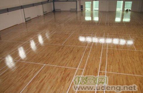 篮球馆羽毛球馆枫桦木体育运动木地板